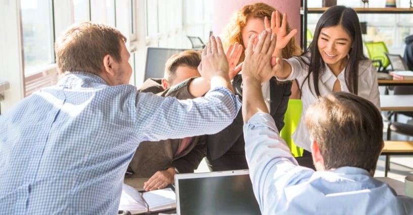 Lavorare in team consulente assicurativo